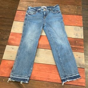 3 FOR $20 LOFT Straight Crop Jeans Size 0